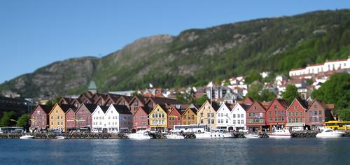 Miniature Bergen Harbor