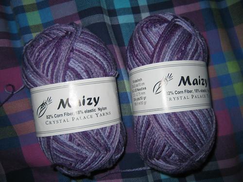 Maizy yarn