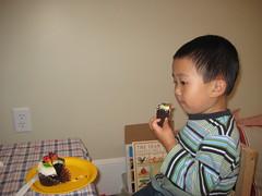 I had a cupcake