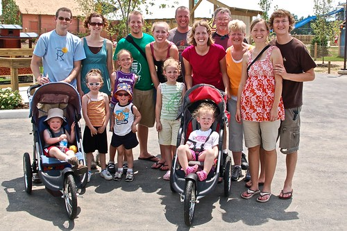 All 16 at the zoo