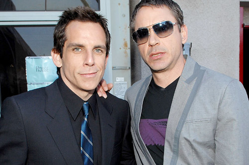 Ben Stiller y Robert Downey jr 2008