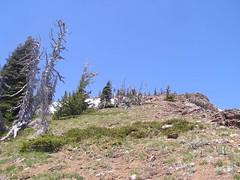 Gary on way up to summit