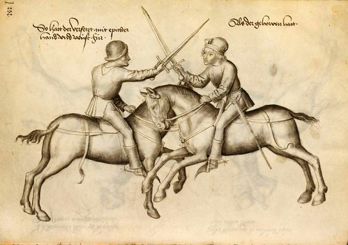 12-Lucha de espada a caballo sin armadura 127v