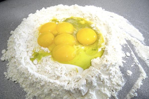 "a pasta ""nest"""