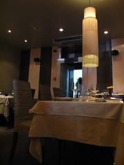 Detalle de la Sala del Restaurante