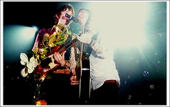 ryan ross and brendon urie (Lyndsey Tarrants) Tags: phantomplanet ryanross motioncitysoundtrack panicatthedisco thehushsound brendonurie spencersmith jonwalker thehondacivictour