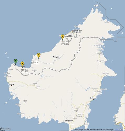 map kampung pueh