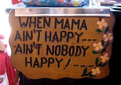 mama's sign happy