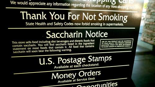 Saccharin