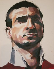 eric cantona (hool a hoop) Tags: art painting paint canvas ericcantona edwardwilliams