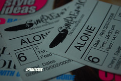 ALONE MOVIE TICKET