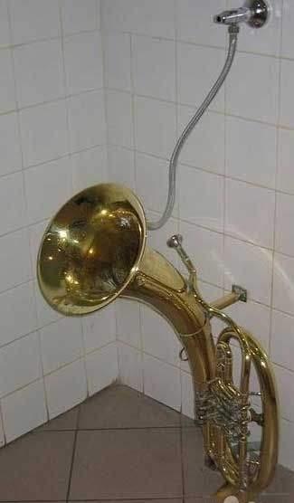 Saxaphone Urinal