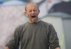 The Scream - Glastonbury 2008 (wentloog) Tags: uk camp england festival wales canon eos interestingness britain candid cardiff glastonbury tent explore cameron scream 5d 2008 anguish 24105 canoneos5d explored ef24105f4l wentloog stevegarrington