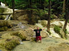 Step 7, The Top!, Erawan Waterfall (Robotik: Michael) Tags: thailand waterfall kanchanaburi erawan