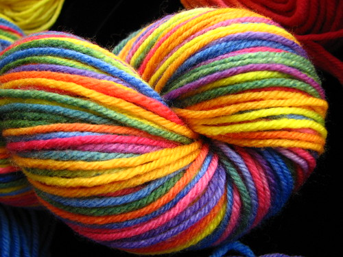 Rainbow on SW Merino Worsted
