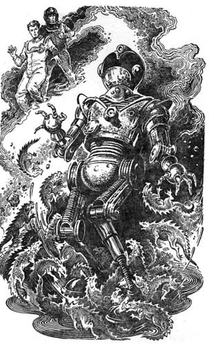 Soviet Pulp Robot