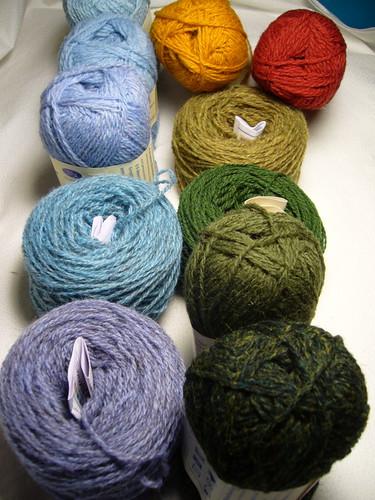 Shetland Wools