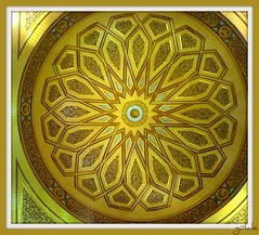 Asumandır kubbesi ~ yıldızlar avizesi (g ü L â L e) Tags: madinah medine mescidinebevi hareketlikubbe herbiri60tonmuş 9tonuahşapmış süperbifikir raylısistem