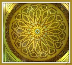 Asumandr kubbesi ~ yldzlar avizesi (g  L  L e) Tags: madinah medine mescidinebevi hareketlikubbe herbiri60tonmu 9tonuahapm sperbifikir raylsistem