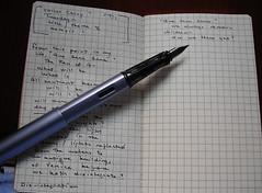 brainstorming a memoir