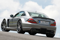 Mercedes SL 65 AMG Black Series pictures