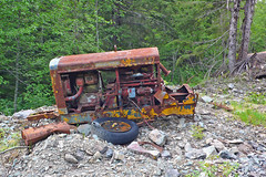 abandoned mining equipment (xtremepeaks) Tags: old canada abandoned silver junk mine bc arm alice mining equipment dolly varden 1920