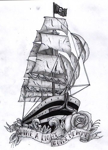 sculpting · Ship tattoo; ← Oldest photo