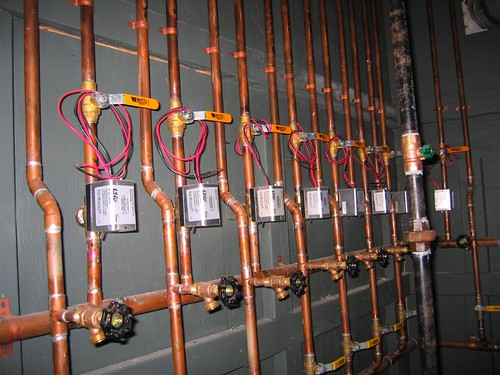 Heat system control valves