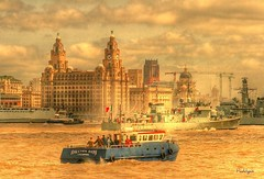 In My Liverpool Home . . . . (~ paddypix ~) Tags: liverpool river waterfront ships busy mersey pierhead liverbuilding halcyondays