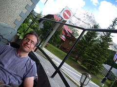 Jojo sur le patio, Field (joadc) Tags: river athabasca