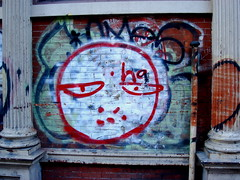 New York graffiti (Ann Althouse) Tags: graffiti soho