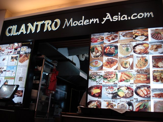 Cilantro Modern Asia at Marine Terrace