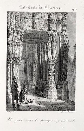 Chartres07- Una imagen del portico septemtrional