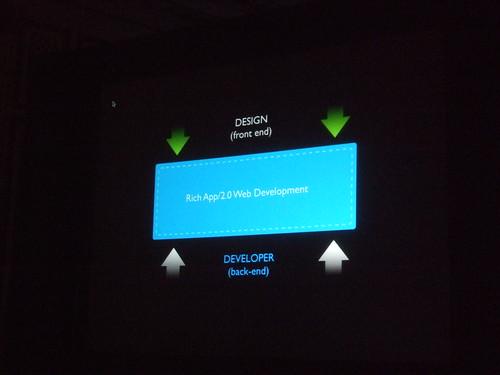 Merging design and developer