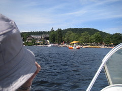 Cruising on Tittisee (alan_synchronicity) Tags: europe 2008 titisee
