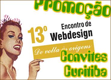 Promoção 13º Encontro de Webdesign