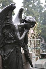 milano cemetery - cimitero monumentale di milano (narkevich_andrey) Tags: italy milan cemetery statue milano cimitero monumentale