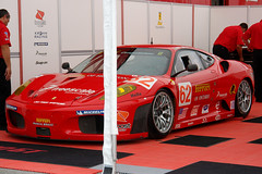 Risi Ferrari (with ugly white pole)