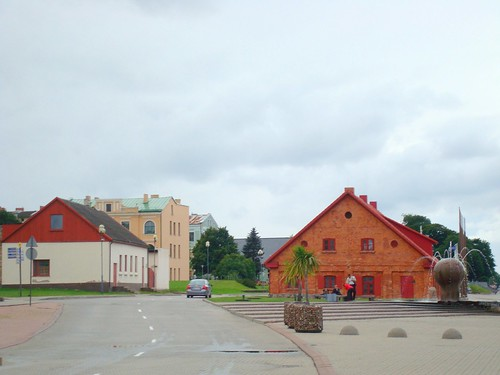 Ventspils harbour passage