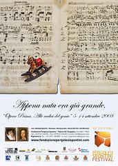 Festival Pergolesi Spontini - Provincia Ancona, dal 5 al 14 settembre 2008 (laprimaweb.it) Tags: jesi ancona pergolesi provinciadiancona montesanvito sanmarcello maiolatispontini monsano montecarotto