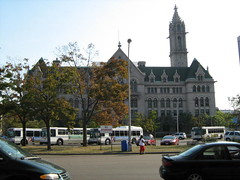 Old Post office. It is ECC City Campus now (William Wilson 1974) Tags: city travel bridge winter food usa brown white snow ny macro building bus male green tower history fall love nature water architecture female night truck portraits buildings season liberty niagarafalls landscapes buffalo travels funny downtown driving action towers tan niagara journey trucks interstate westernnewyork wny travelingtolls