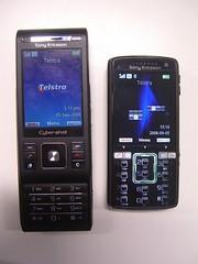 Standby - Sony Ericsson C905 vs K850i
