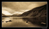 Wastwater. (Julian Scott Photography) Tags: uk lake mountains sepia reflections landscape nationalpark lakedistrict cumbria fells wastwater nikond300 prideofengland distinguishedblackandwhite