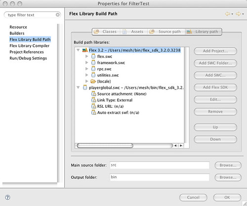 Creating Re-distributable ActionScript Libraries of Pixel