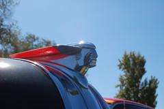 1948 Pontiac Torpedo (Brain Toad) Tags: california black cars 1948 car indian vehicles vehicle torpedo pontiac 2008 antioch hoodornament carshow billetproof contracostafairgrounds billetproof2008