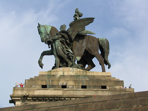 Statue of emperor William I of Germany