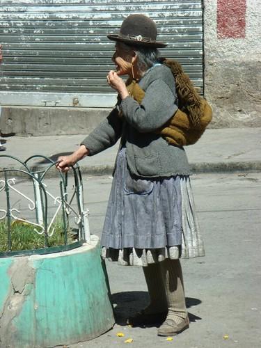 Potosi woman...