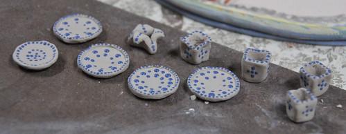 Dollhouse Plates & Cups