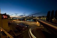 Stockholm by night (ientu) Tags: longexposure sunset stockholm dusk d90 sigma1020