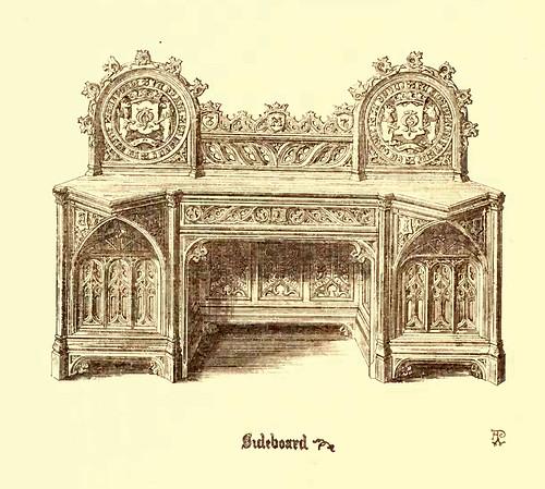 20- Muebles estilo gotico S. XV- Aparador-Seibó